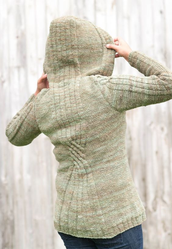 Kristen TenDyke's Blog: New from Caterpillar Knits - Nadi Coat!