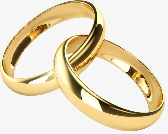Gold Ring Wedding Ring Wedding Rings Ring Png Transparent Image
