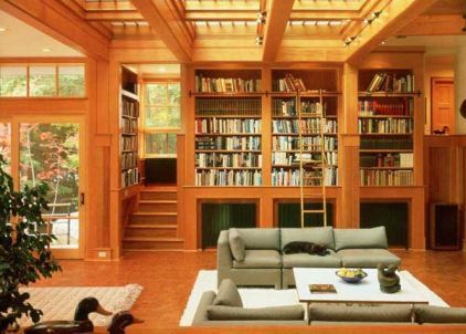 contemporary family room by Eck | MacNeely Architects inc.