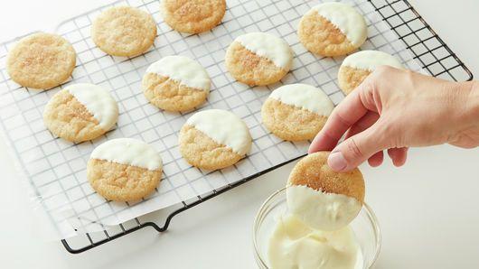 Eggnog Snickerdoodles Recipe Snickerdoodles Snickerdoodle Recipe Sugar Cookie Mix