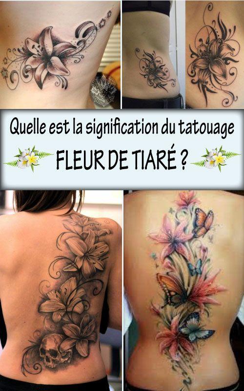 44++ Fleur de tiare tatouage signification inspirations