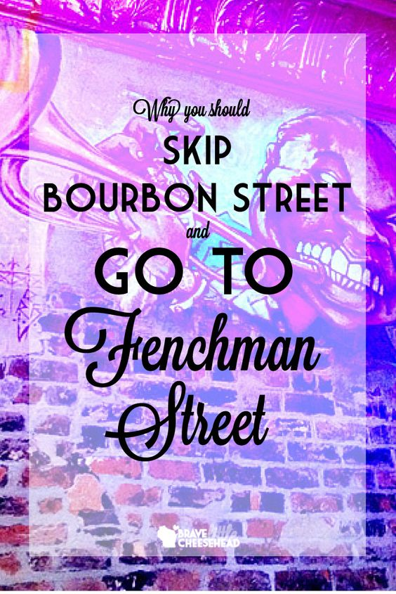 We felt obligated to at least give Bourbon Street a shot, but in reality we were simply getting it out of the way. What I wanted of Bourbon street, I found to be just a few blocks west in the Marigny. If you want to get an authentic New Orleans experience, skip Bourbon Street and head straight for Frenchman Street, and never look back.