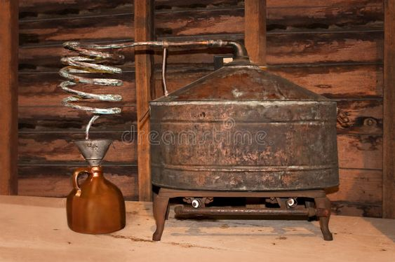 Vintage Still. This vintage still was once used to produce moonshine whiskey whi , #AFF, #produce, #vintage, #Vintage, #moonshine, #Lightning #ad