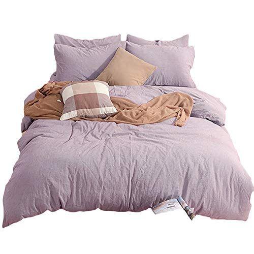 Clothknow Mauve Bedding Set Duvet Cover Sets King Cotton Https Www Amazon Com Dp B077wfzwxh R Duvet Cover Sets Queen Size Duvet Covers Duvet Bedding Sets