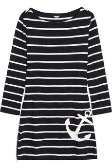 Maritime anchor dress. Need this.