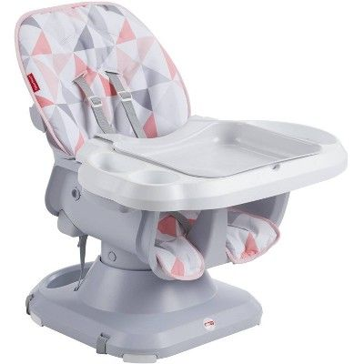 Fisher Price Spacesaver High Chair Rosy Windmill In 2020 Cool Baby Stuff Baby High Chair Girl High Chair