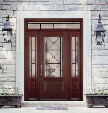 exterior doors include front entry doors protective doors patio doors and back doors