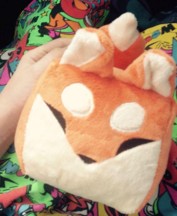 ||George_The fox|| my cousins plushie $20