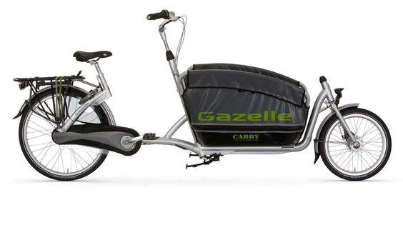 Gazelle Cabby - Sicherer und komfortabler Kindertransporter - Gazelle.de