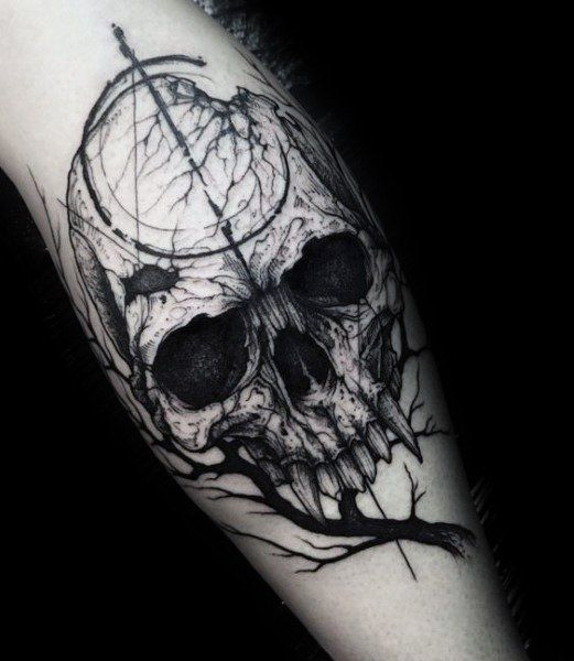 Top 51 Gothic Tattoo Ideas 2020 Inspiration Guide Creepy Tattoos Tattoos Gothic Tattoo