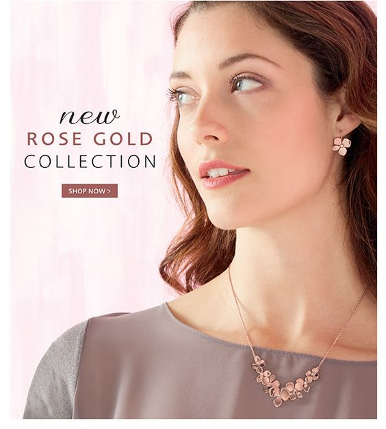 Beautiful New Rose Gold Collection from Pia Jewellery