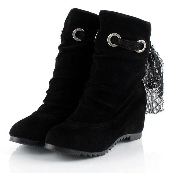 Women' Casual  Fur Flat-boot