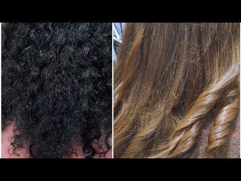 إزالة الصبغة السوداء من الأسود إلى البني الغزالي الفاتح بدون ضرر بالتدريج بني غزالي فاتح Youtube Hair Styles Long Hair Styles Hair