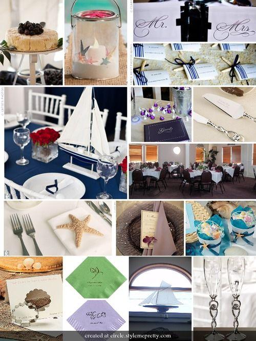 Nautical wedding ideas :)