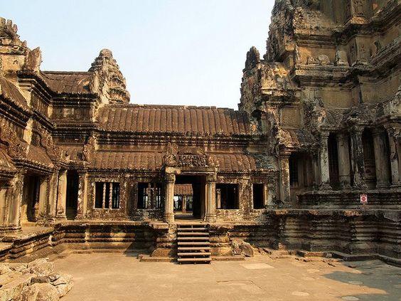 Một phần kiến trúc của Angkor Wat