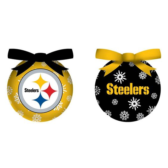 Pittsburgh Steelers Christmas Ornaments | Holidays | Pinterest ...