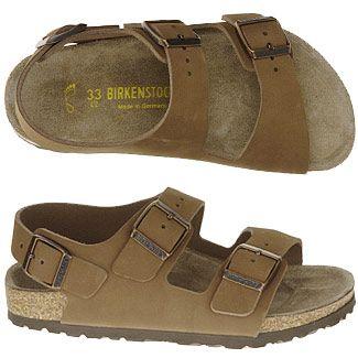 Birkenstock Milano Sandals (Cocoa) - Men's Sandals - 43.0 M