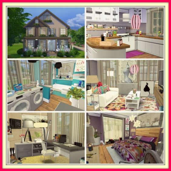 Dinha Gamer: Sweet Family House • Sims 4 Downloads