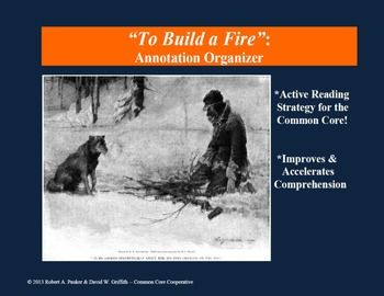 Annotate To Build A Fire