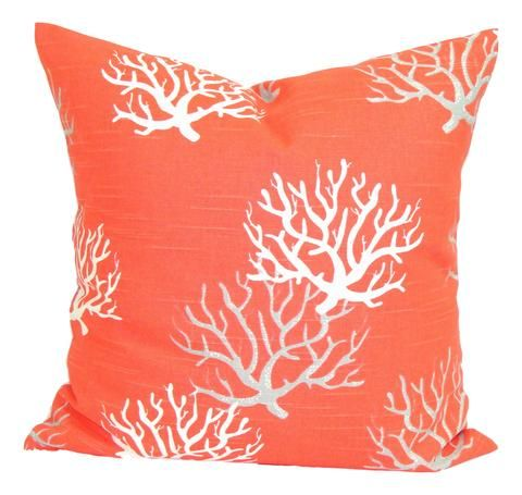 Pillow Case White Coral