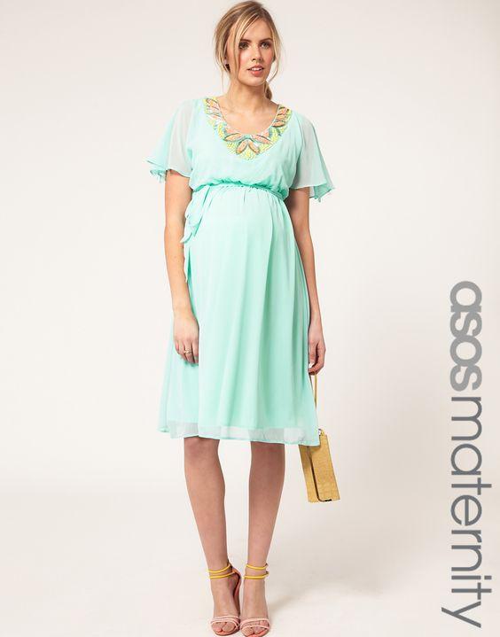 ASOS pretty mint dress