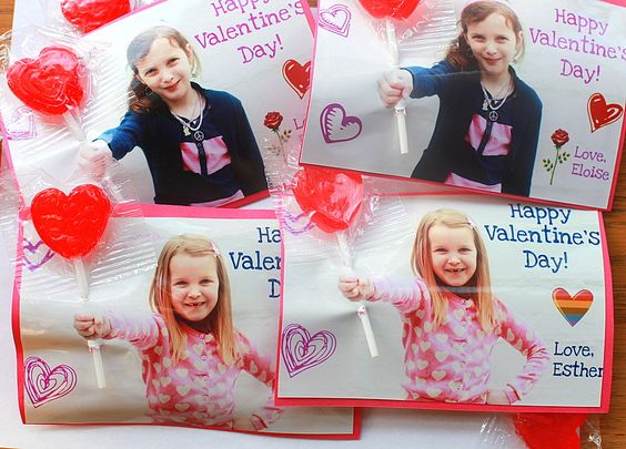 Custom Valentine Photo Cards