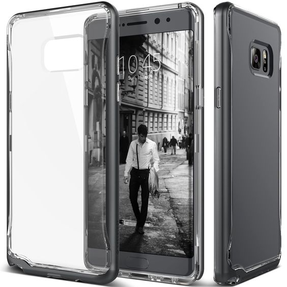 Caseology, Samsung, Galaxy, Note 7, Case, Cover, Charcoal Black Scratch, Resistant, Mobilephone,Phone,Accessories, Available at www.mobilepro.co.uk ,