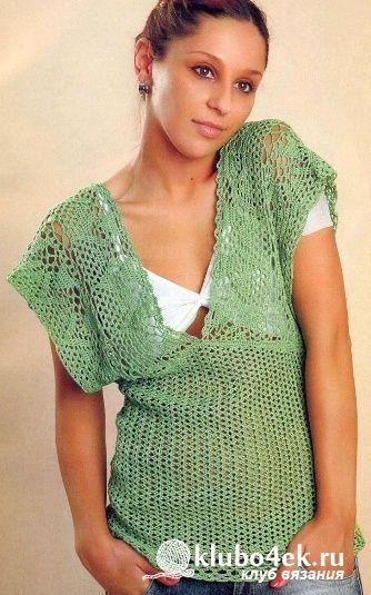 Delicate summer blouse