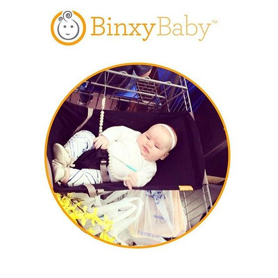 """From @landonsmamabear: """"Seriously best baby invention ever! Especially if you have a baby and a toddler and a butt load of groceries!"""" #shopbinxy"""