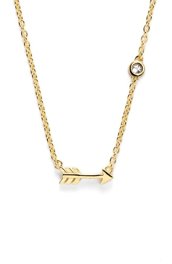 arrow necklace / sydney evans