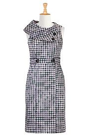 Vintage houndstooth, dress love