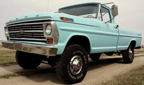 Original rare Classic 1967 Ford F-100 4x4, 4-Speed manual, California truck, image 1
