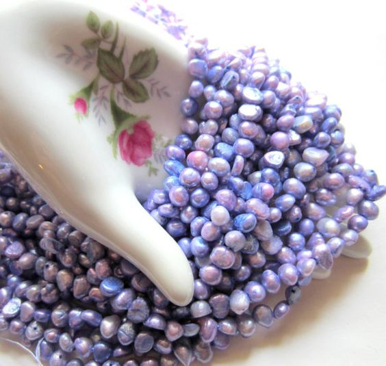 Hey, I found this really awesome Etsy listing at https://www.etsy.com/listing/159846429/freshwater-pearls-soft-lavender-15-inch