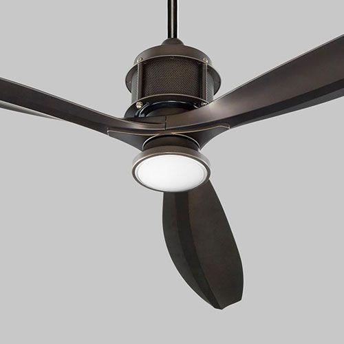 Oxygen Lighting 3 106 22 Propel 56 In Ceiling Fan In Oiled Bronze