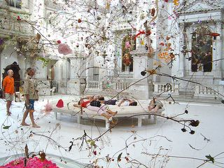 Falling Garden installation