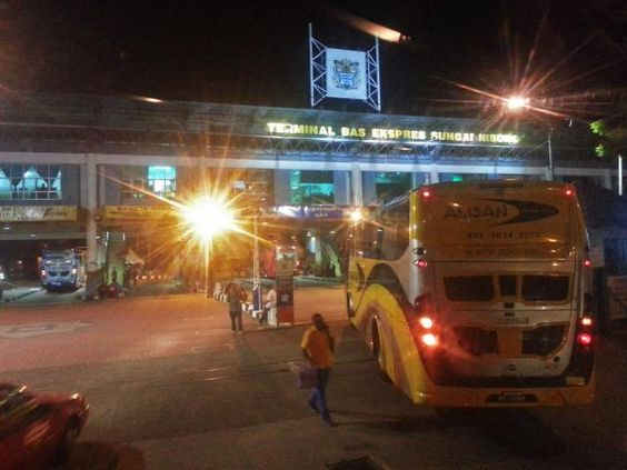 How to Get to Sungai Nibong Bus Terminal in Penang, Malaysia: Arriving at Sungai Nibong Bus Terminal after dark