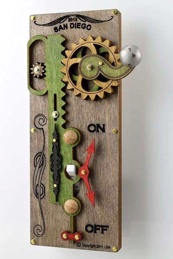 Steampunk Switches Green Trees Switch Plates And Galleries