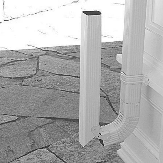 25 Best Gutter Extensions Trending Ideas On Pinterest Downspout Ideas French Drain System And Gutter Gutter Downspout Extension Gutter Drainage Downspout