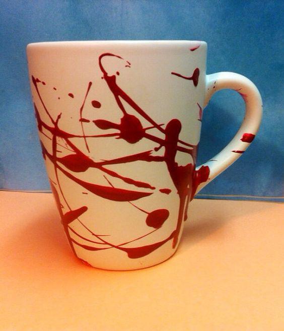 blood splatter coffee mugs - photo #4