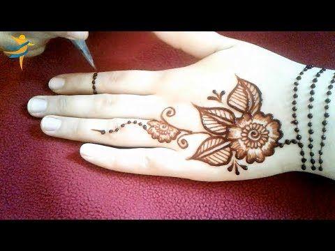 Easy Latest Henna Mehndi Designs For Beginners Beautiful Stylish Mehndi Designs Mehndi Designs For Beginners Mehndi Simple Mehndi Designs