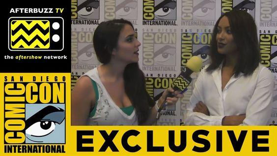 Kat Graham (The Vampire Diaries) @ 2015 San Diego Comic-Con | AfterBuzz TV