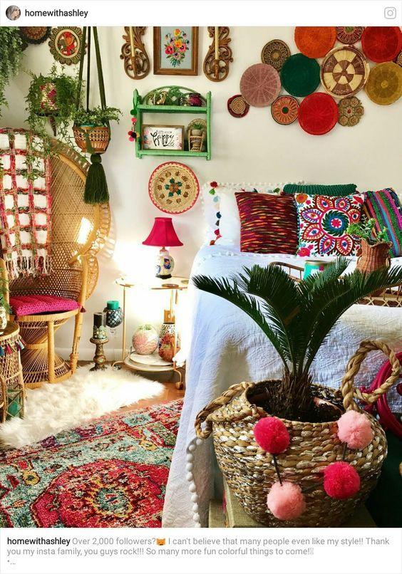 Decoración Boho Chic Decoración Boho Diseño De Interiores Bohemio Decoración Boho Chic
