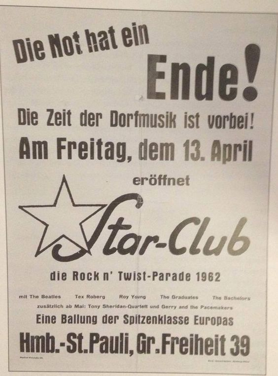 The Beatles at the Star Club, Hamburg 1962