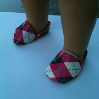 Doll shoes made from Duct Tape