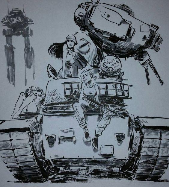 A Girl's war \Leonard Brizuela || Deviant Art || Blog