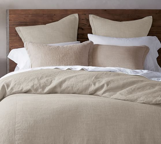 Belgian Flax Linen Duvet Cover Shams Made With Libeco 8482