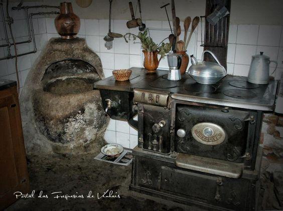 Las viejas cocinas de hierro tradiciones portugal for Cocinas viejas reformadas