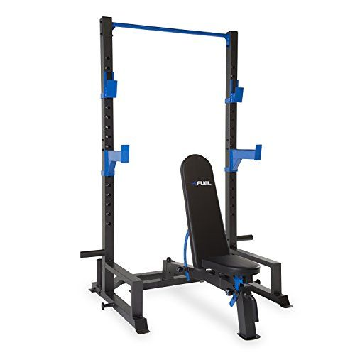 Fuel Performance Deluxe Power Cage And Adjustable Utility Bench Set Rack Only Bench Only Bench Set Weight Benches Weight Bench Set