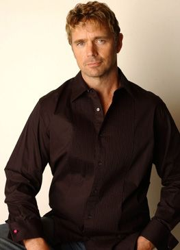 John Schneider - I loved him as Daniel in Dr. Quinn and in everything I've watched him in since.