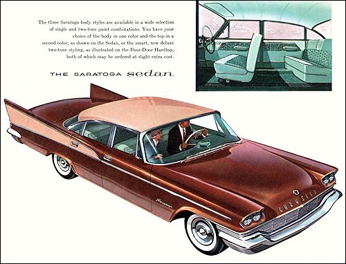 Sedans on pinterest for 1957 chrysler saratoga 4 door